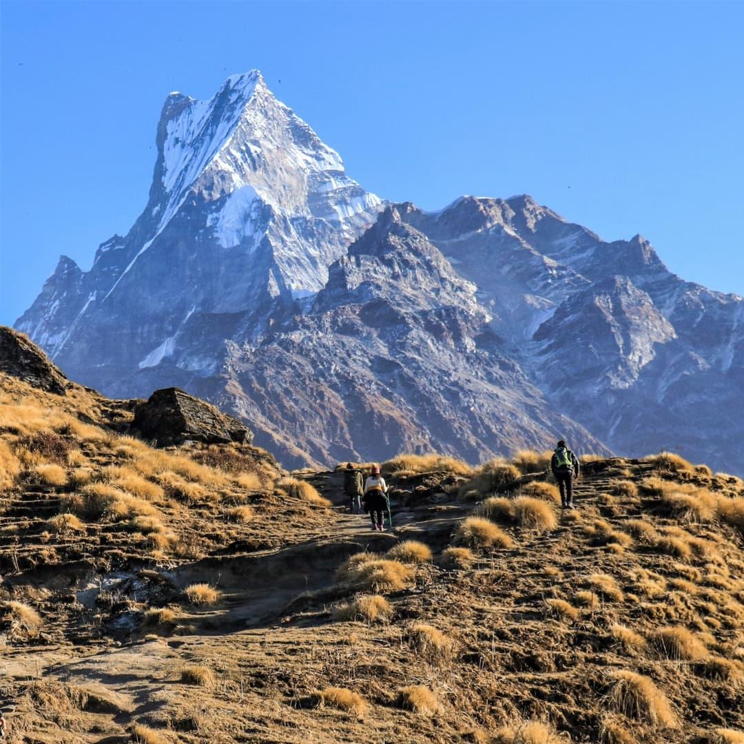 region de annapurna de trekking en nepal