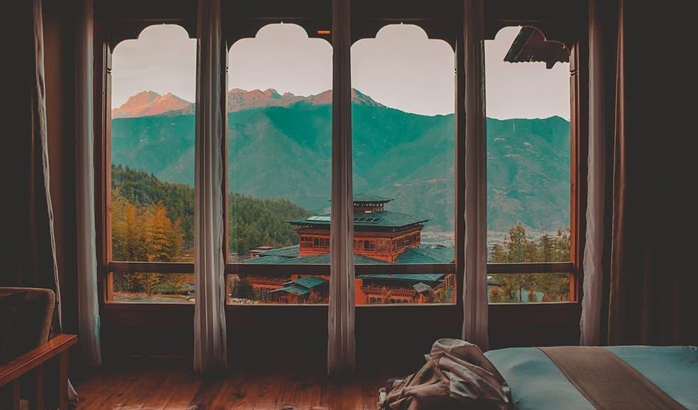 Alojamiento-y-comida-Bután, guía de viaje a bután