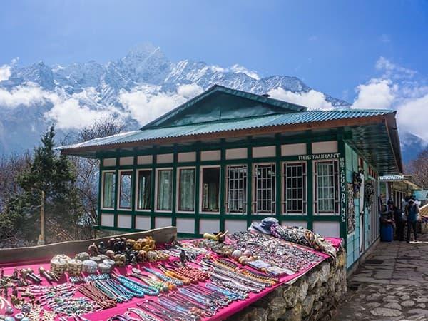 casa del pueblo sherpa, everest