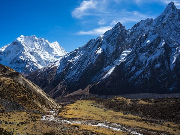 Circuito manaslu, nepal.