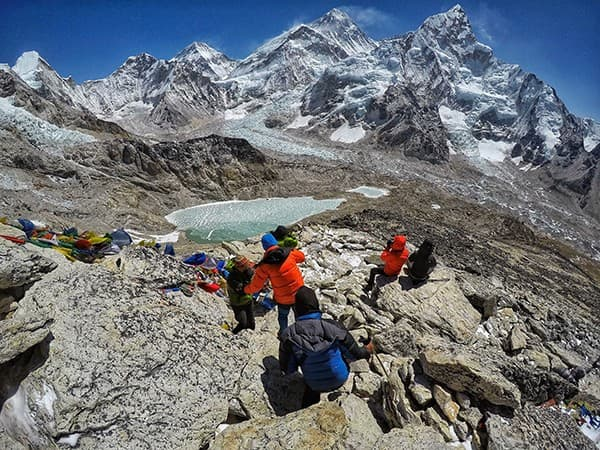 vista desde kala patthar, everest