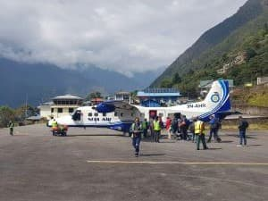 Lukla, de camino al campo base everest