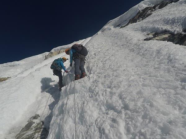 escalada island peak Nepal, himalaya
