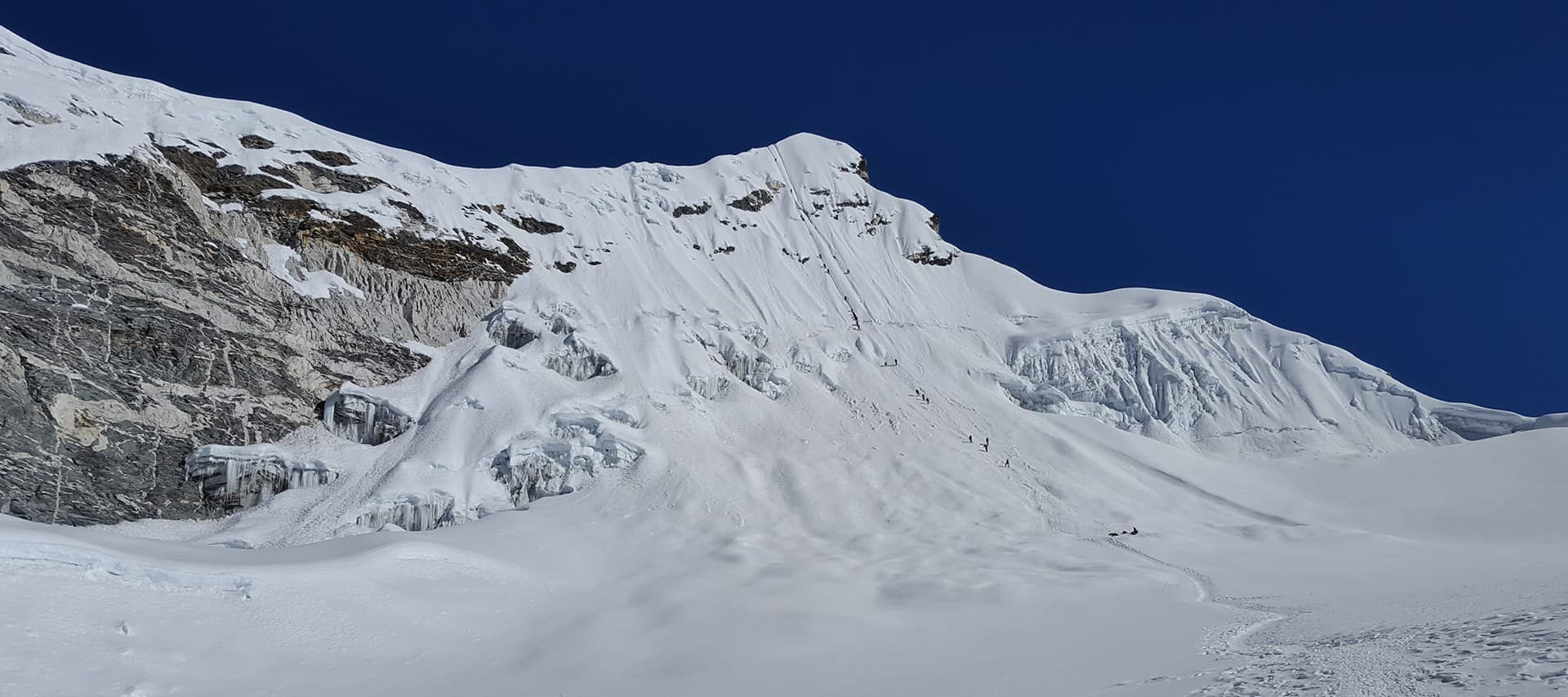 La ascensión al Island Peak,Nepal