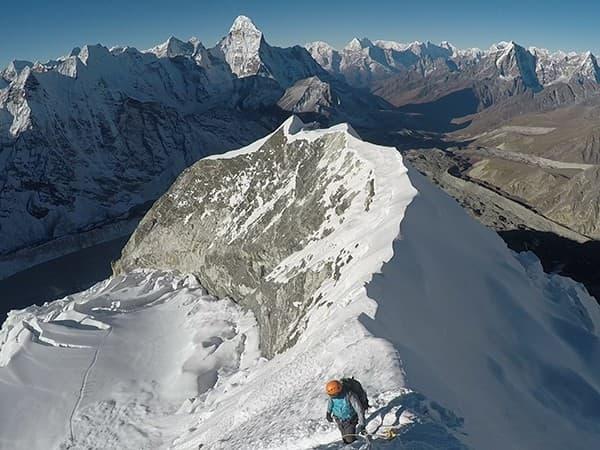 ascension island peak, nepal