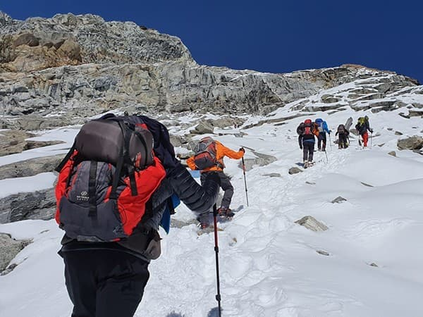 trekking y ascensión al Lobuche Peak, Nepal, Himalaya