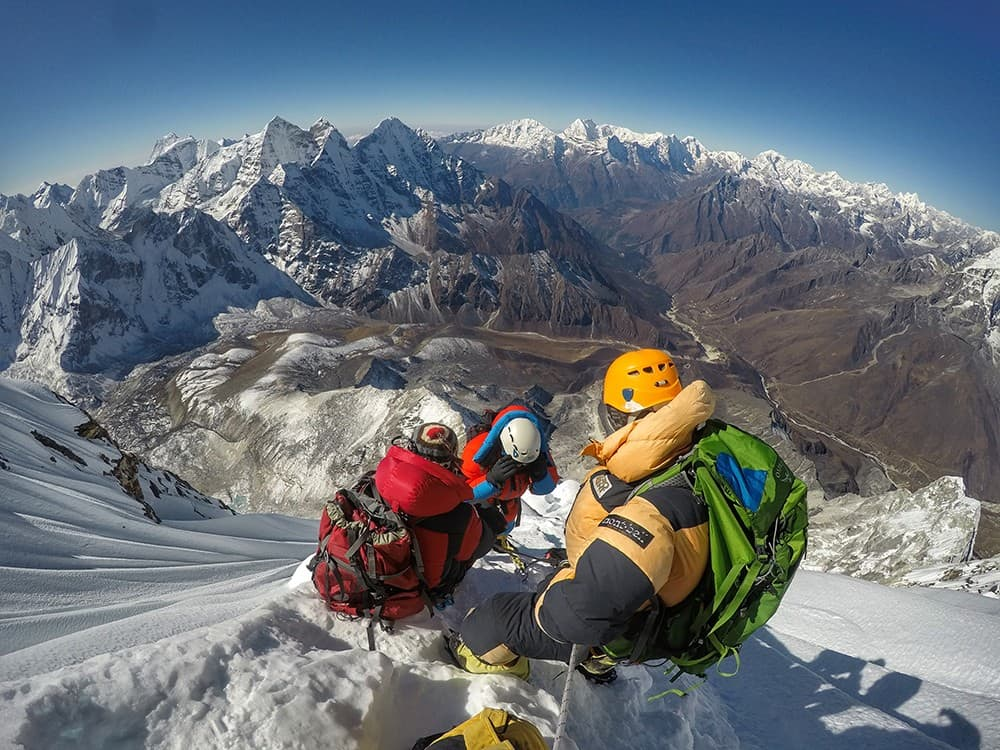 Equipamiento para una expedición en Nepal