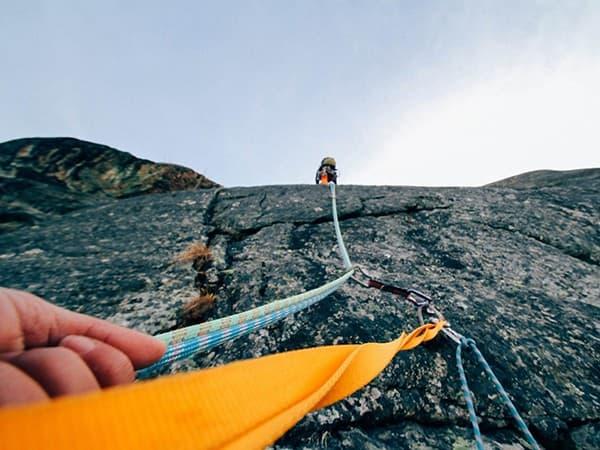 la escalada de deportes extremos en nepal