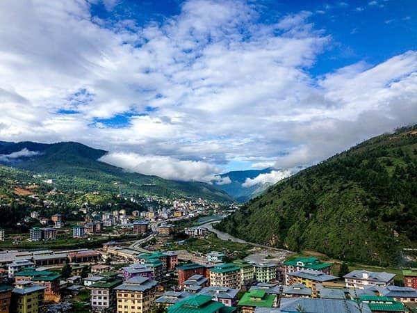 viaje a Bután valle de paro