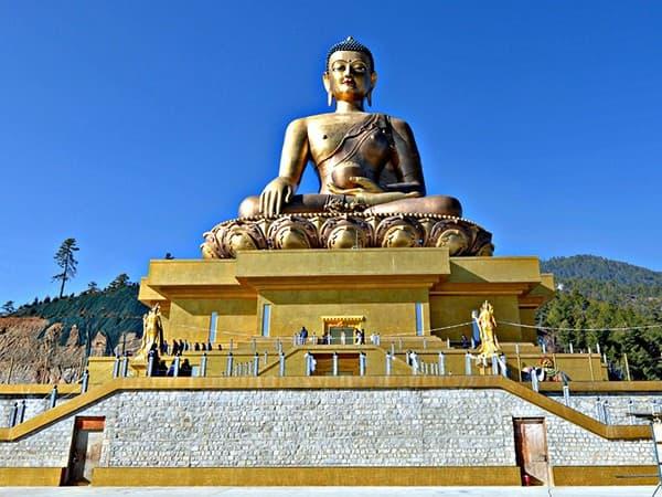 viaje a Bután buda