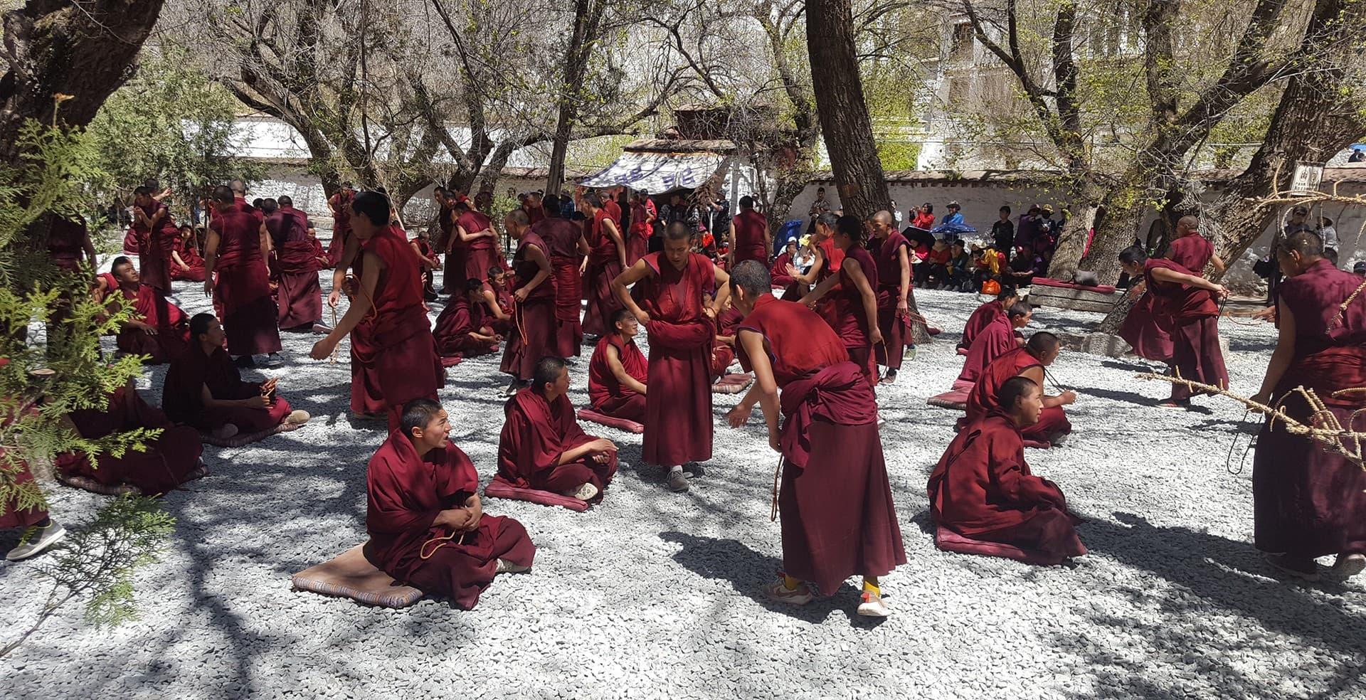 Viaje-al-tibet. Monasterio Sera