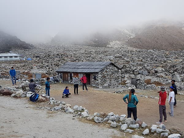 La ruta al Mera Peak,nepal