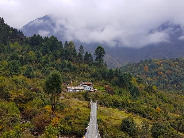 Valle de Hongu, mera Peak