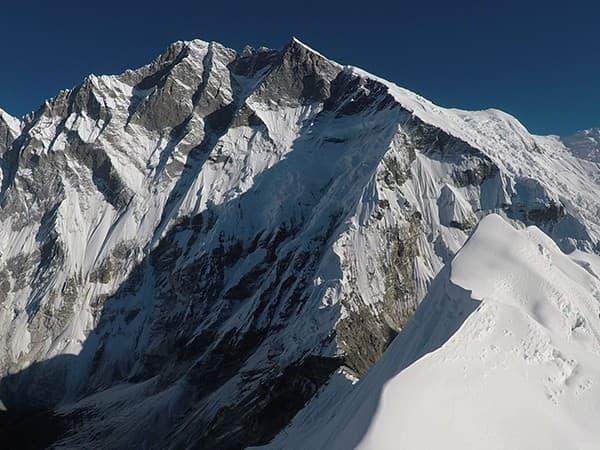 Vista desde la cima de Island Peak