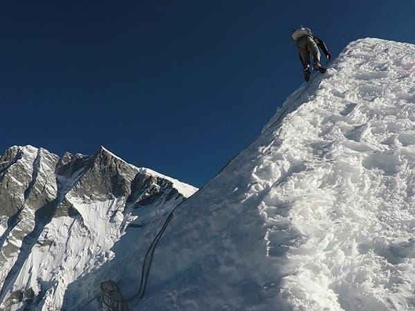 Ascension island peak Nepal, ultima parte