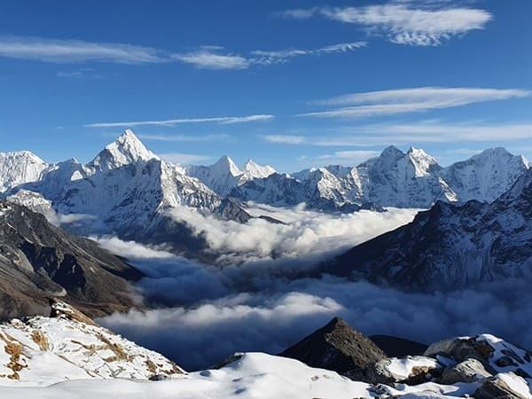 vista desde Lobuche Peak, Nepal, Himalaya