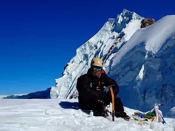 Cima del Lobuche Peak, Nepal, Himalaya