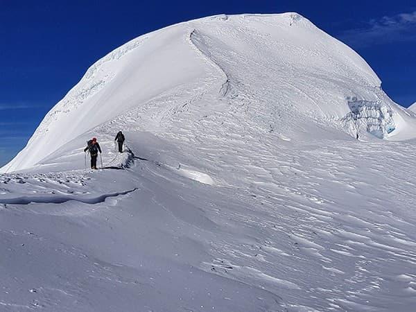 ascensión al Mera Peak, ultimo repecho