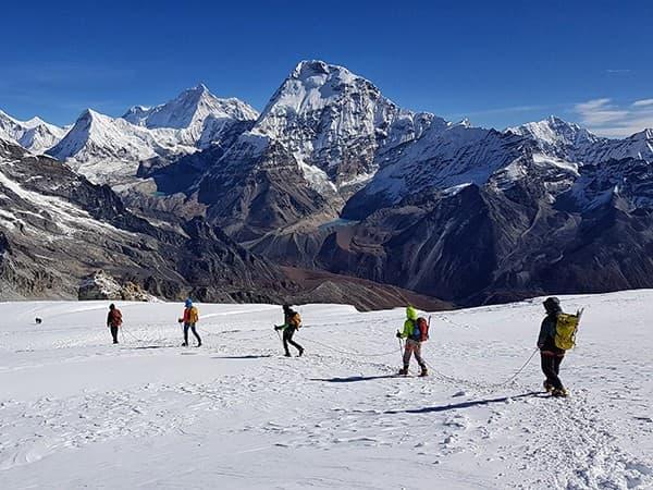 Ascensión al Mera Peak, nepal