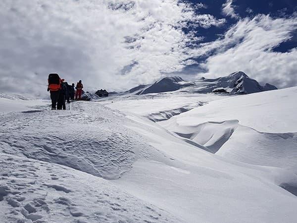 ascensión al Mera Peak. nepal. himalaya