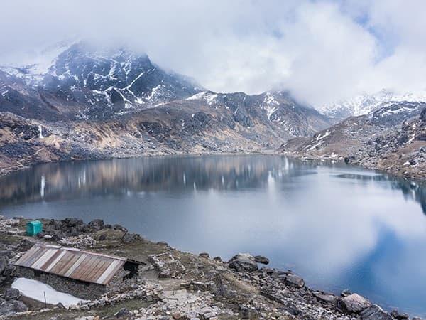 Lago Goisakunda, Langtang