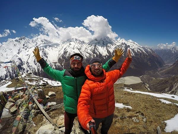 región de trekking Langtang