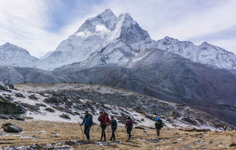 guía de trekking en nepal
