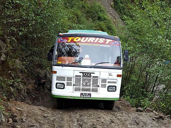 autobus para valle de langtang