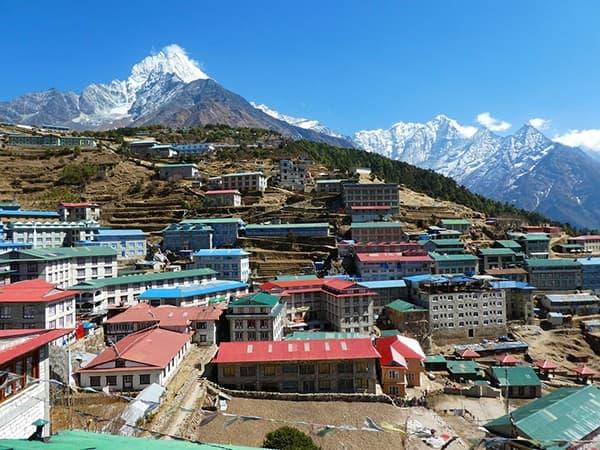 trekking-Everest en namche-bazaar