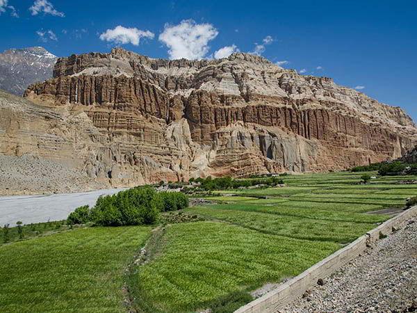 El pueblo de Chele, trekking mustang