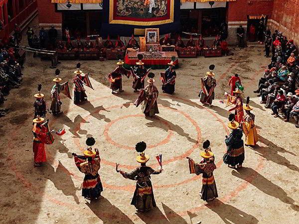 Festival en el reino de mustang
